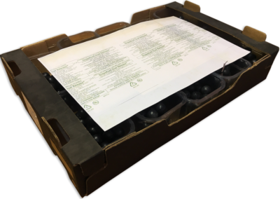 Grapes conservation sheets
